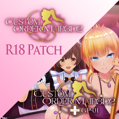 CUSTOM ORDER MAID 3D2 It's a Night Magic adult content supplement plus GP-01 patch