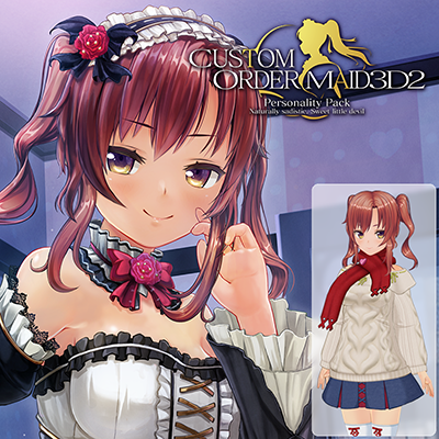 CUSTOM ORDER MAID 3D2 Personality Pack Naturally sadistic, Sweet little devil Limited Edition